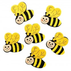 البد ملون شكل نحلة بكيت 12 قطعة