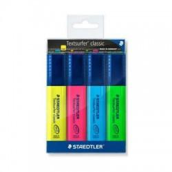 قلم اشارة طقم 4 لون staedtler
