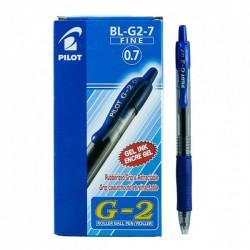 قلم حبر جل كباس 0.7 Pilot BL-G2-7-L