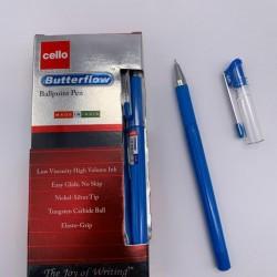 دزينة اقلام حبر جاف 12 قلم  CELLO Butterflow