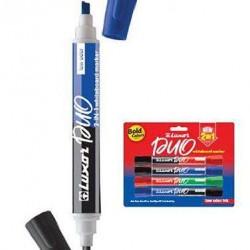 قلم لوح طقم 4 اقلام 8 لون راسين  LUZAR PUO