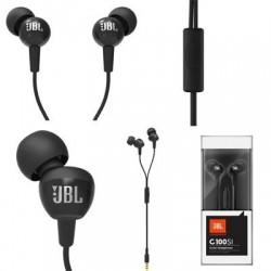 سماعات jbl C100SIUBLK JBL