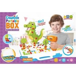 لعبة مفريجا درل 4 في 1 creative portable box