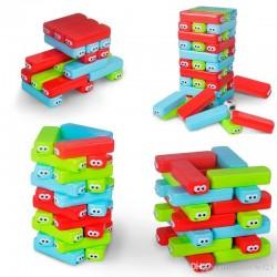 لعبة stacking brick tower 30pcs