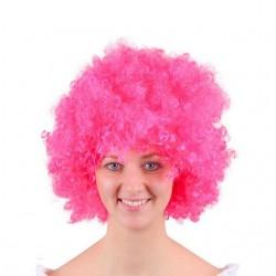 شعر مستعار للمهرج لون زهري