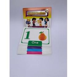 بطاقات نعليمية 21 كرت 15*20 الارقام الانجليزية
