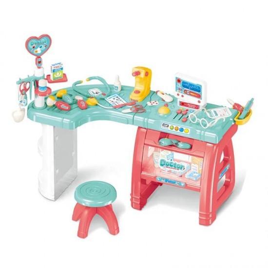 لعبة طاولة طبيب مع ادوات 27 قطعة