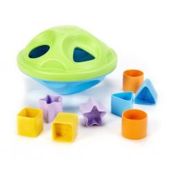 لعبة تطابق الاشكال مكعبات بلاستيك shape sorter