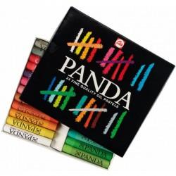 الوان شمع زيتية 24 لون Panda