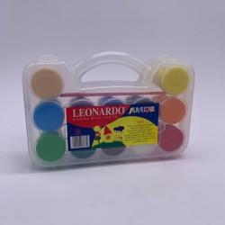 الوان غواش علبة 12 لون leonardo