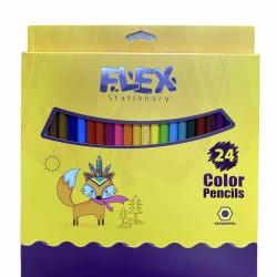 الوان خشب 24 لون FLEX
