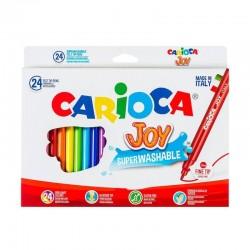 الوان فلوماستر 24 لون  carioca joy
