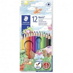 الوان خشب 12 لون مع محاي STAEDTLER NORIS