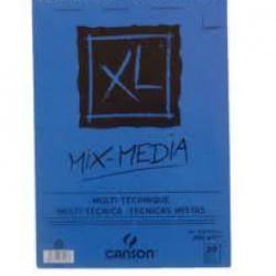 دفتر رسم سلك كانسون 21*27.7 سم 300 غم 20 ورقة CANSON MIX MEDIA A4