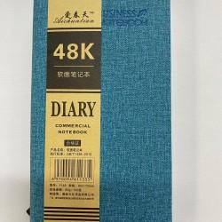 دفتر جلد مطاول DIARY 48K 95*175
