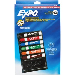 قلم لوح طقم 6 لون مع محاية لوح Expo 90
