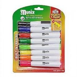 قلم لوح 8 لون مغناطيس مع محاي MUNIX
