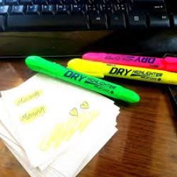 قلم اشارة طقم 3 لون amos