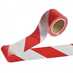 شريط احمر وابيض 200 متر للمناطق الممنوعة