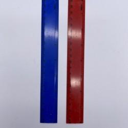 مسطرة بلاستيك 20 سم ملونة
