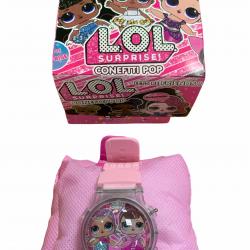 ساعة يد للاطفال lol