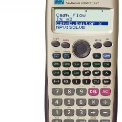 الة حاسبة علمية casio fc-100v
