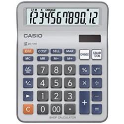 الة حاسبة Casio dc-12m